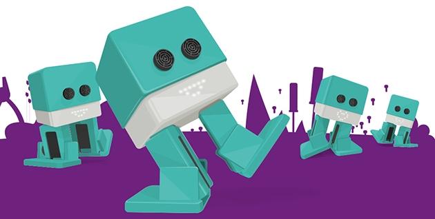 Varios robots bidepdos zowis